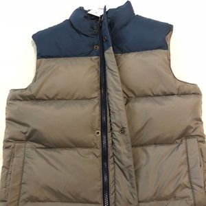 NWT JCREW DOWN FILLED YOUTH VEST SIZE 8